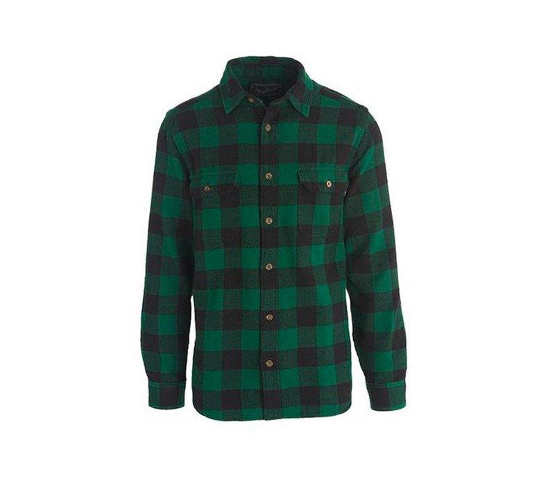 Woolrich Men's Oxbow Bend Plaid Flannel Shirt