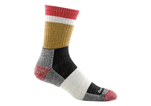 Darn Tough Darn Tough Men's Heady Stripe Micro Crew Light Cushion Socks