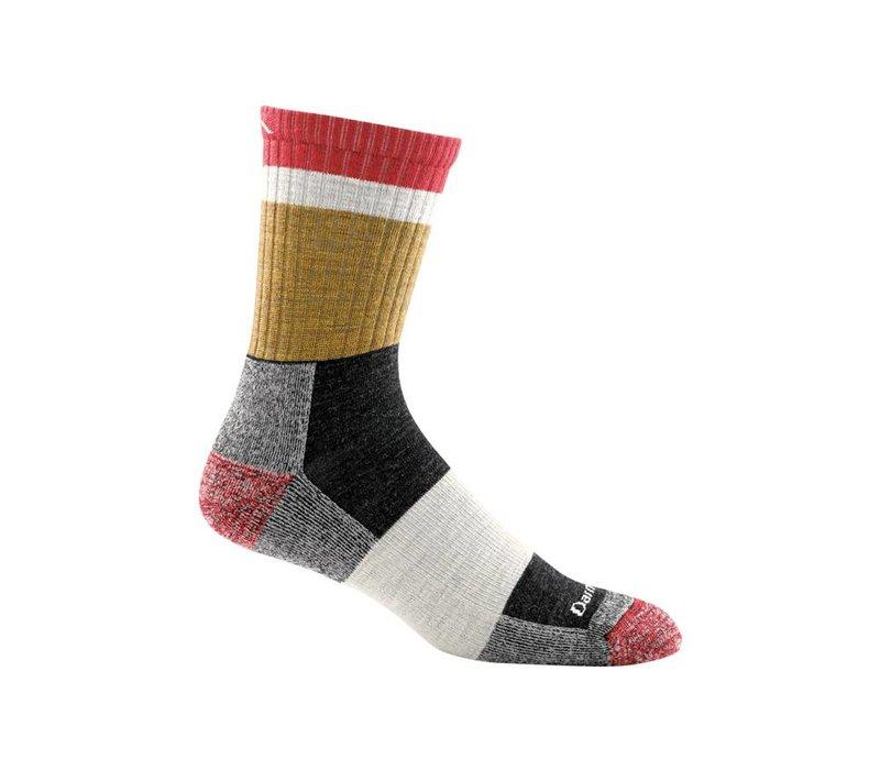 Darn Tough Men's Heady Stripe Micro Crew Light Cushion Socks