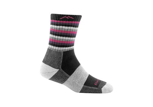 Darn Tough Darn Tough Women's Striped Micro Crew Cushion Socks
