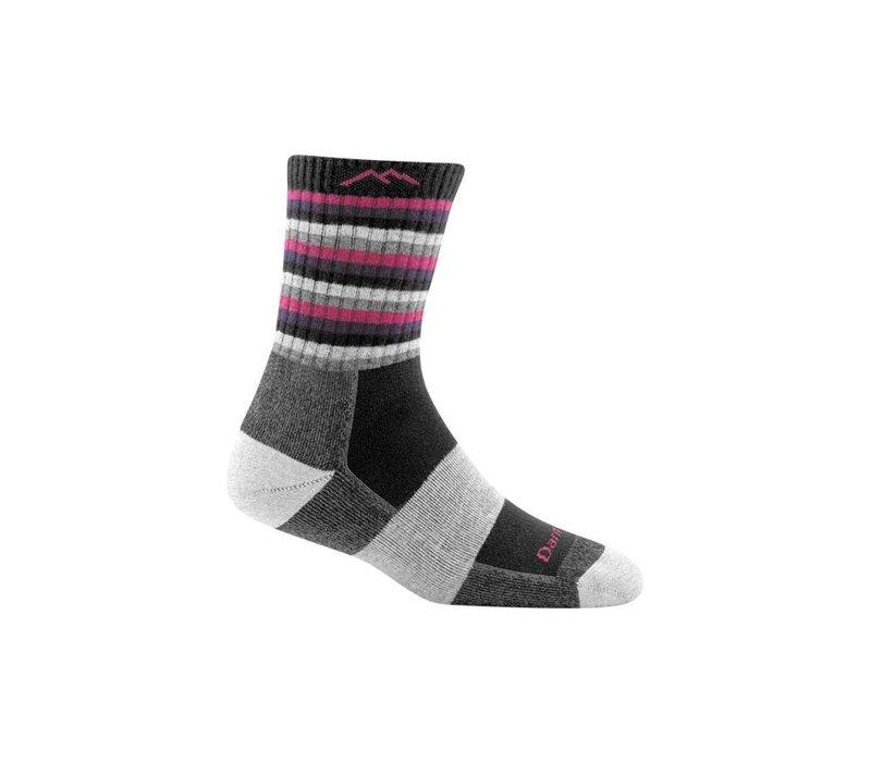 Darn Tough Women's Striped Micro Crew Cushion Socks