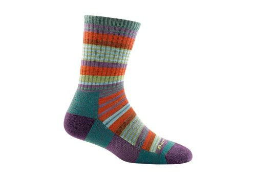 Darn Tough Darn Tough Women's Sierra Stripe Micro Crew Light Cushion Socks