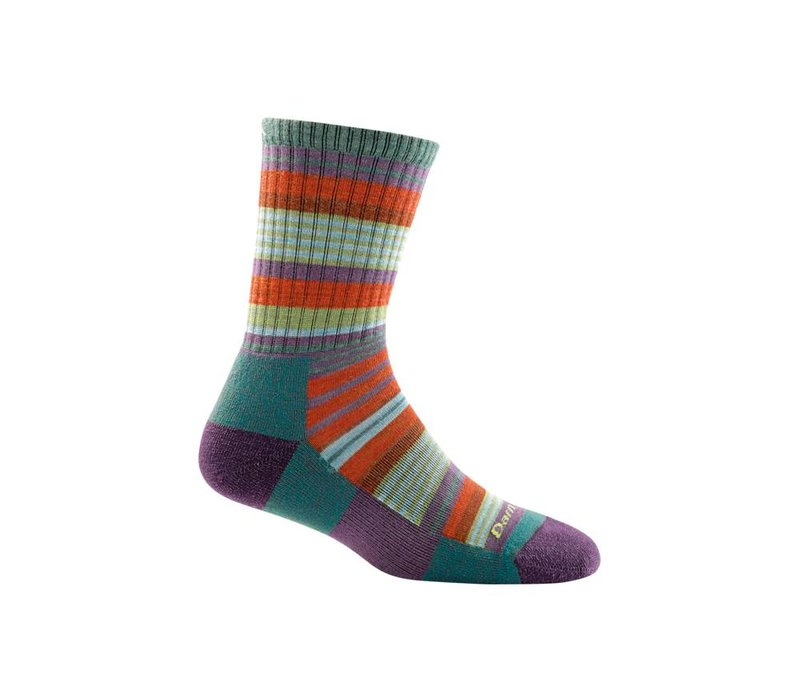 Darn Tough Women's Sierra Stripe Micro Crew Light Cushion Socks