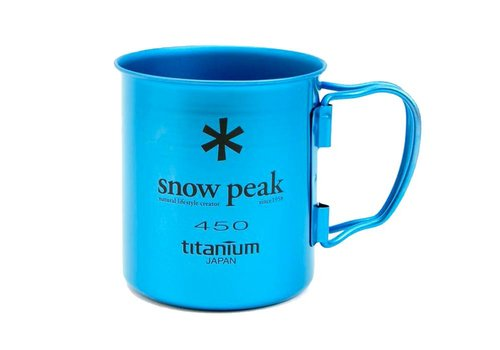 Snow Peak Snow Peak Titanium Single-Wall 450 Colored Cup