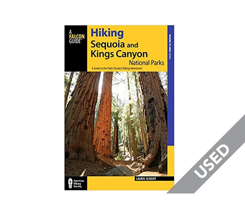 Falcon Guides Hiking Sequoia and Kings Canyon National Parks 2nd Edition USED