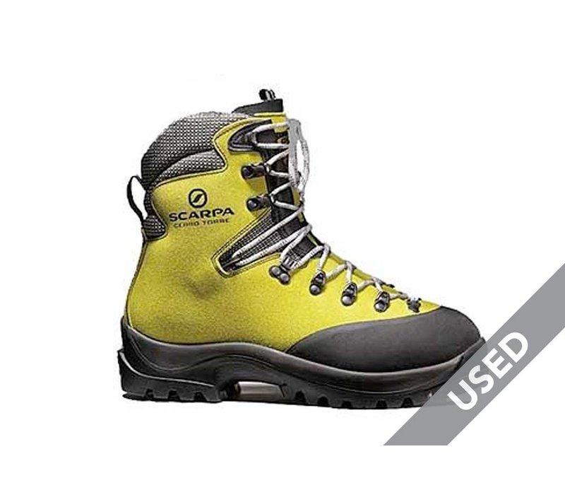 Scarpa Men's Cerro Torre Boots – Size 45.5 (11.5) USED