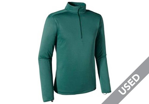 Patagonia Patagonia Men's Capilene Midweight Zip-Neck – Large, Arbor Green USED