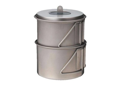 Snow Peak Snow Peak Titanium Mini Solo Cookset