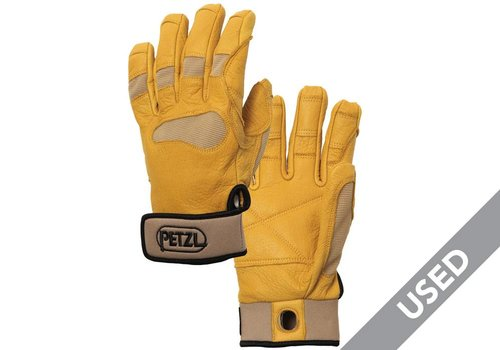 Petzl Cordex Plus K53 Belay Gloves – Medium, Beige USED