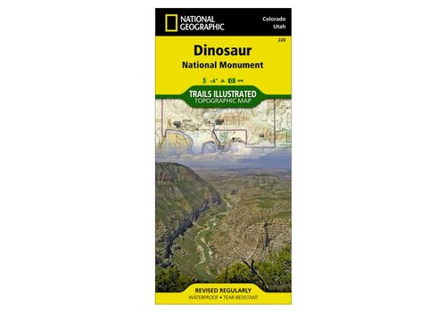 National Geographic National Geographic 220: Dinosaur National Monument Map