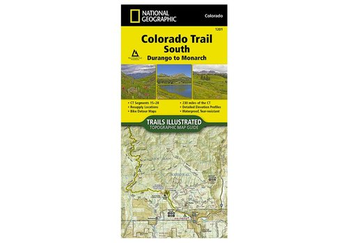 National Geographic National Geographic 1201: Colorado Trail South Durango to Monarch Map
