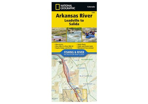 National Geographic National Geographic 2303: Arkansas River Leadville to Salida Map