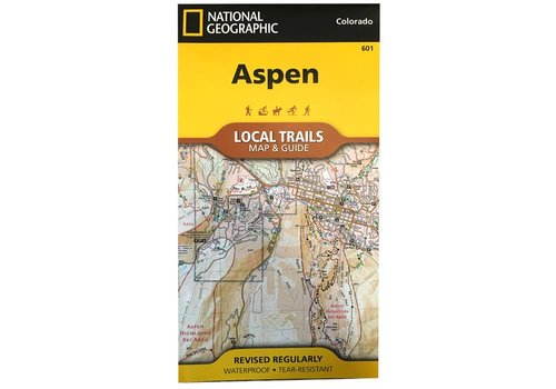 National Geographic National Geographic 601: Aspen Local Trails Map & Guide