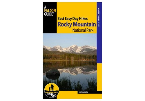 Falcon Guides Best Easy Day Hikes Rocky Mountain National Park Guide & Trail Map Bundle
