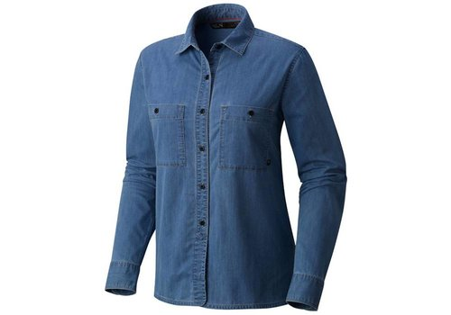 Mountain Hardwear Mountain Hardwear Women's Hardwear Denim Long Sleeve Shirt