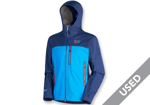 Mountain Hardwear Mountain Hardwear Men's Drystein Jacket – Large, Blue USED