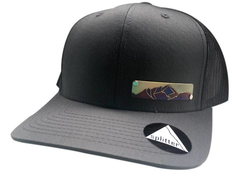 Splitter Designs Splitter Designs Small Plaque Mountain Hat
