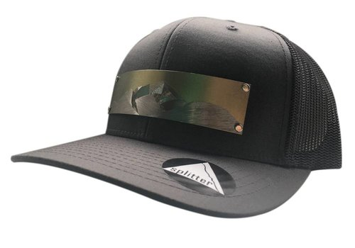 Splitter Designs Splitter Designs Diamond Point Engraved Hats