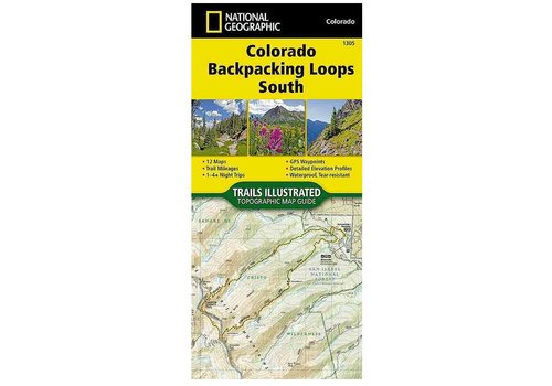 National Geographic National Geographic 1305: Colorado Backpacking Loops South