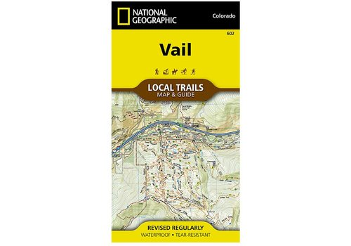 National Geographic National Geographic 602: Vail Local Trails Map & Guide