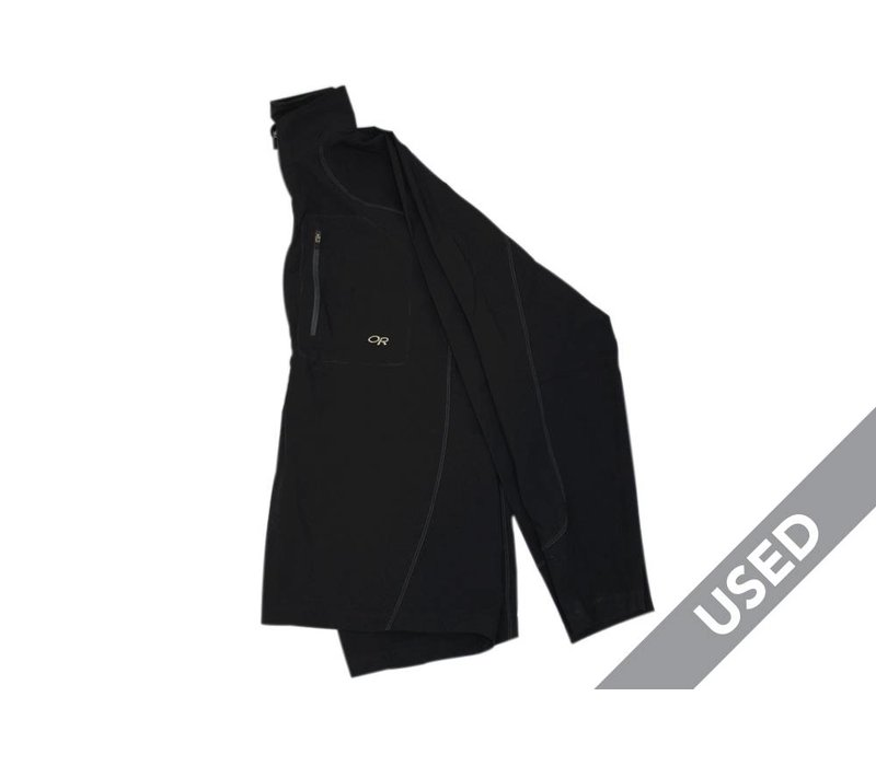 Outdoor Research Men's Cirque Pullover – Large, Black USED
