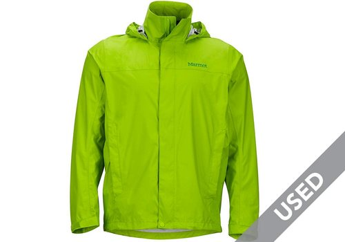 Marmot Men's Precip Rainshell – XL Green USED