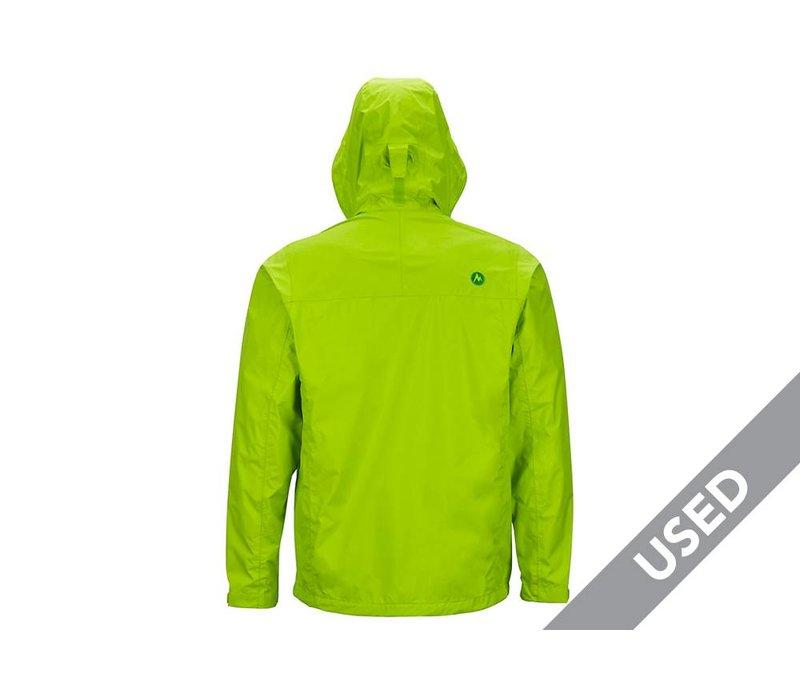 Marmot Men's Precip Rainshell – XL Green USED