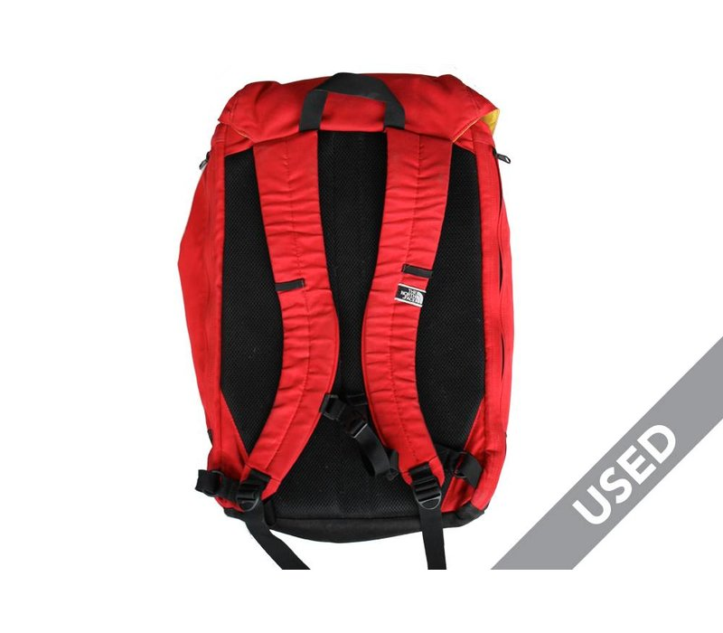 The North Face Commuter Pack Red USED