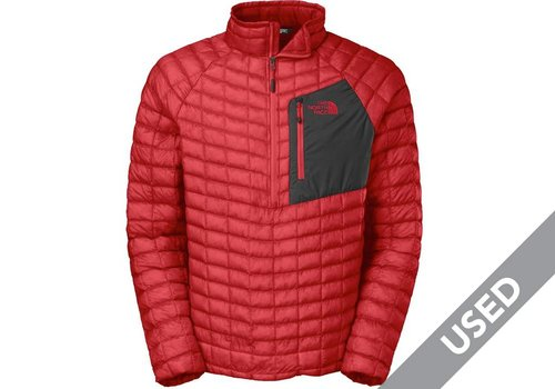The North Face Men's Thermoball Pullover – Medium Red USED