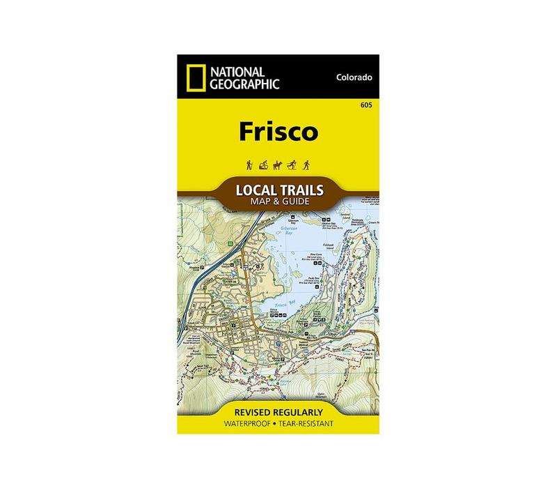 National Geographic 605: Frisco Local Trails Map & Guide