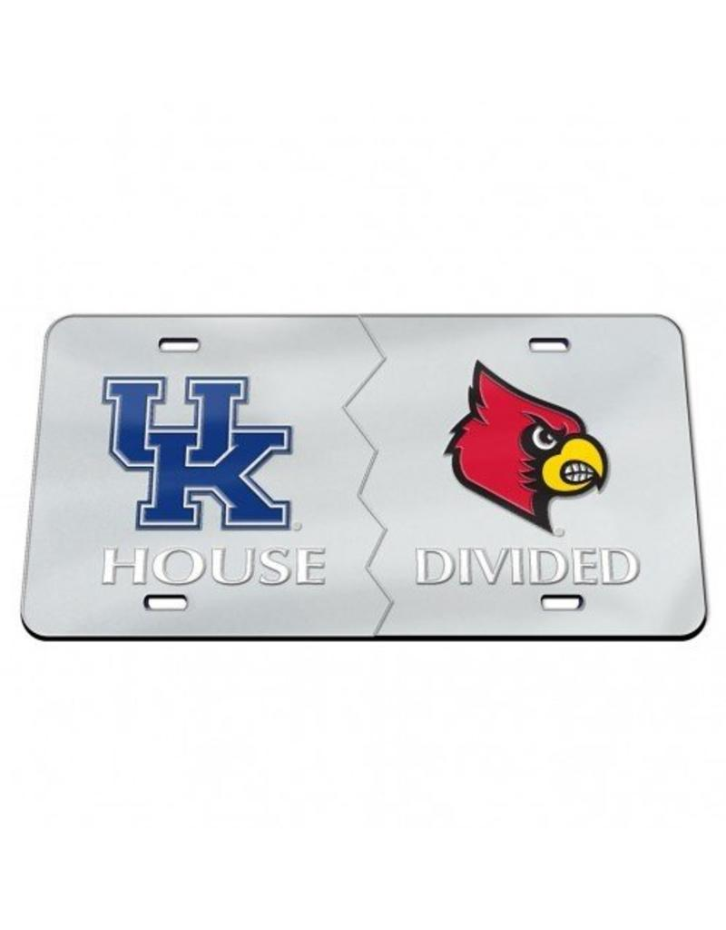 Laser Magic-Wincraft LICENSE PLATE, HOUSE DIVIDED
