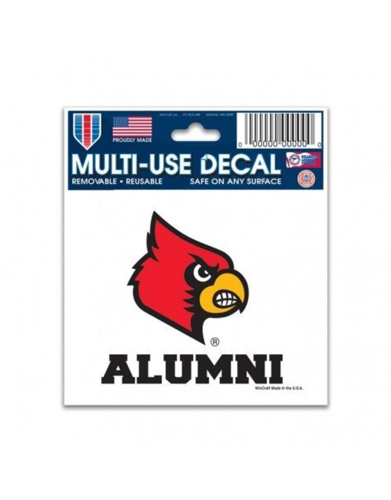Wincraft Inc DECAL, ALUMNI, 4 INCH, UL