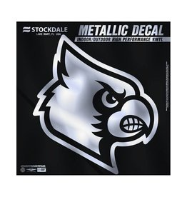 Stockdale Technologies DECAL, SILVER CARDINAL, 6 INCH, UL
