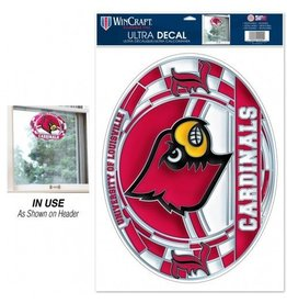 Wincraft Inc DECAL, STAINED GLASS, 17 INCH, UL