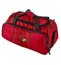 Logo Chair BAG, GYM DUFFLE, RED, UL