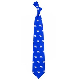 Eagles Wings Neck Tie TIE, PREP, ROYAL/WHITE, UK