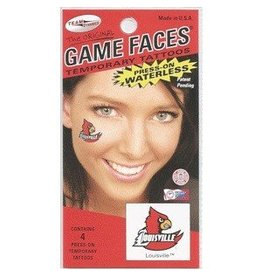 Fan A Peel FACE TATTOOS, BIRD WING, 4 PACK, UL