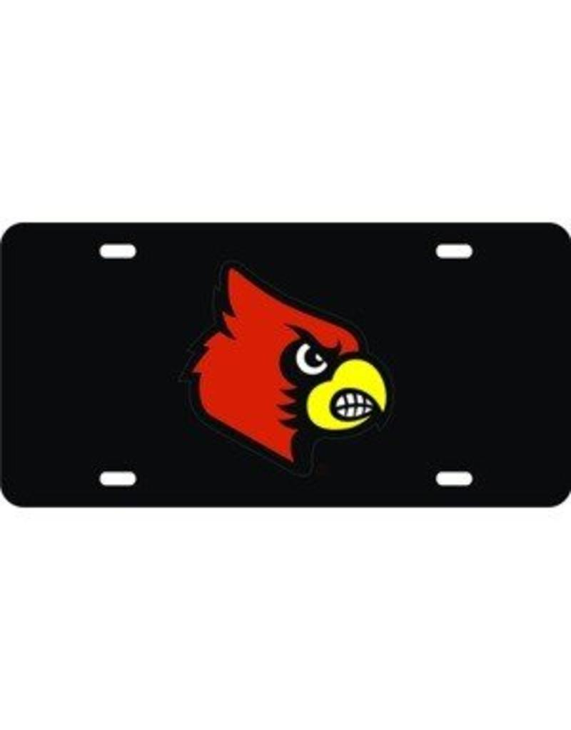 Laser Magic-Wincraft LICENSE PLATE, BLACK/CARD HEAD, UL