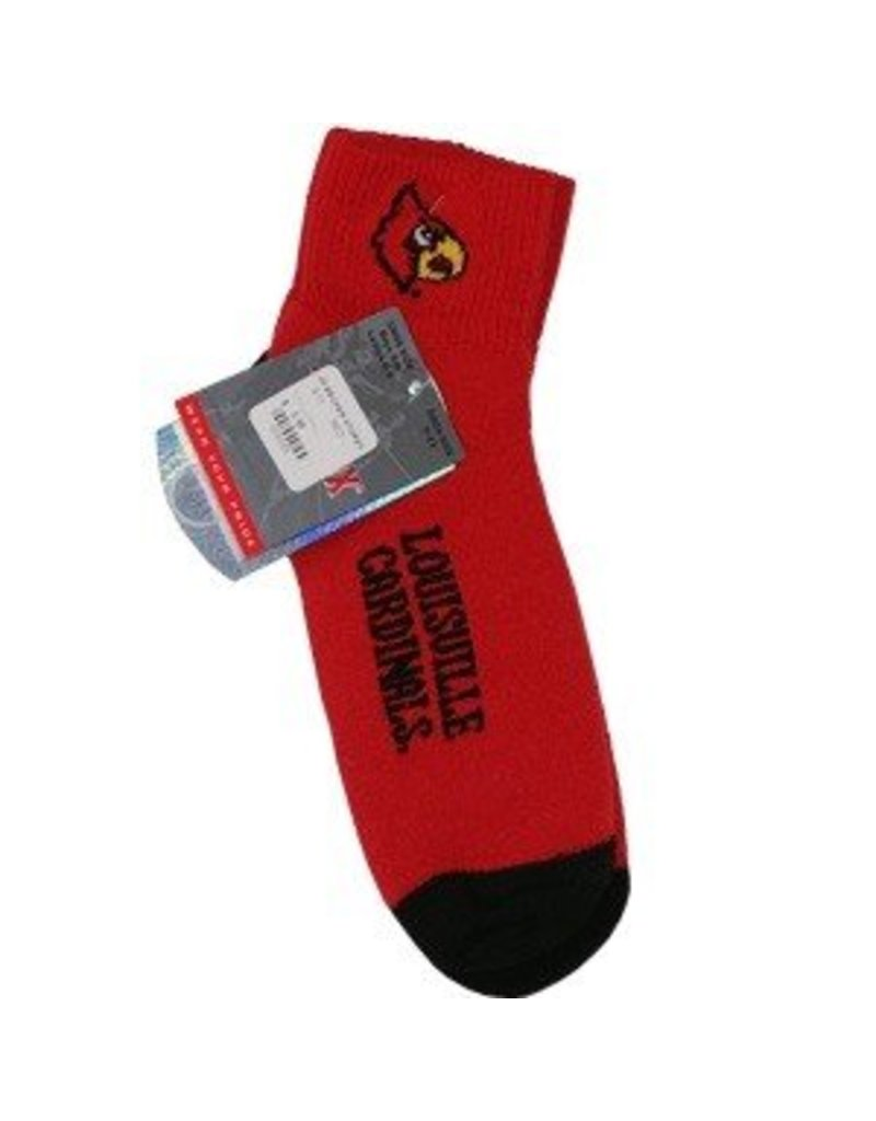 Bare Feet SOCKS, MEN'S, RED, SIZE 10-13, UL