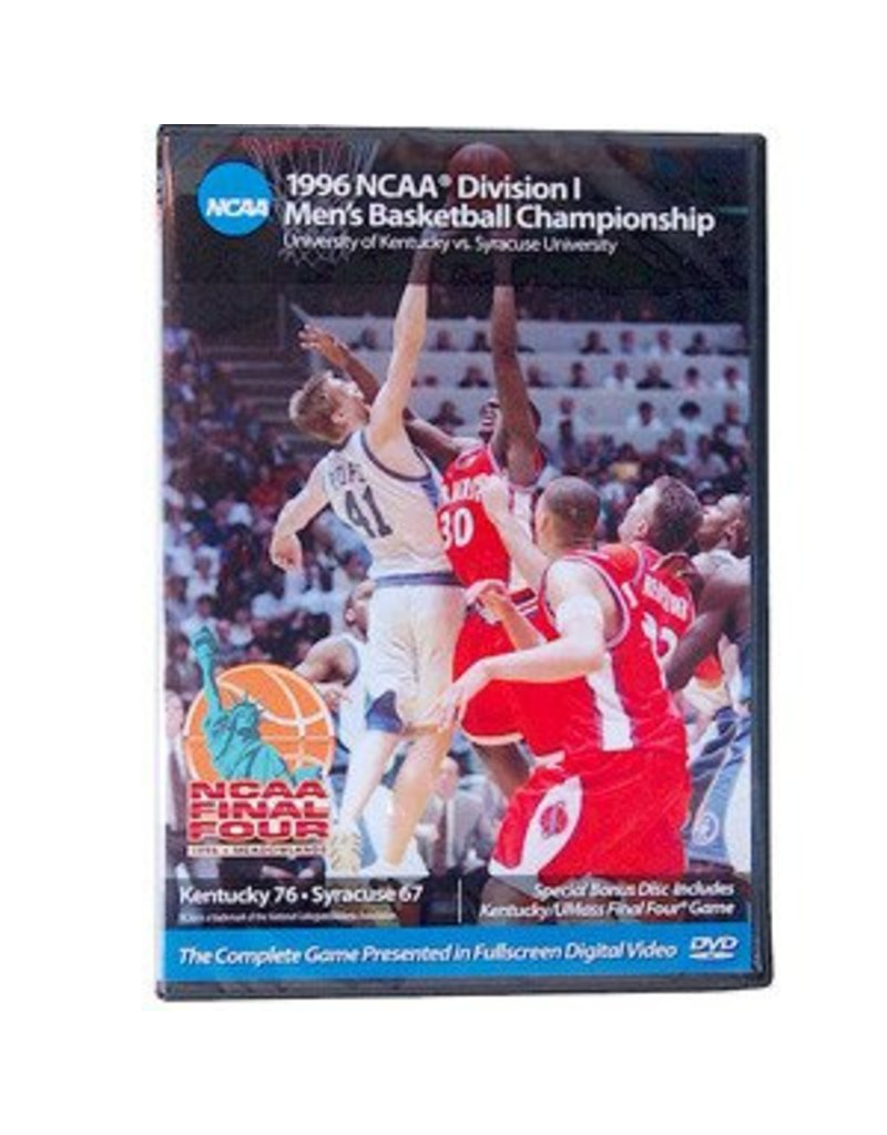 DVD, 1996 NCAA CHAMPIONSHIP GAME, UK