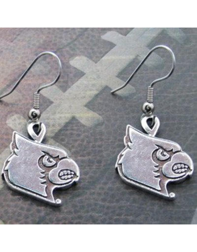 EARRINGS, HOOK, GENTRY, SILVER, UL