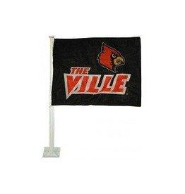 CAR FLAG, BLACK, THE VILLE, UL