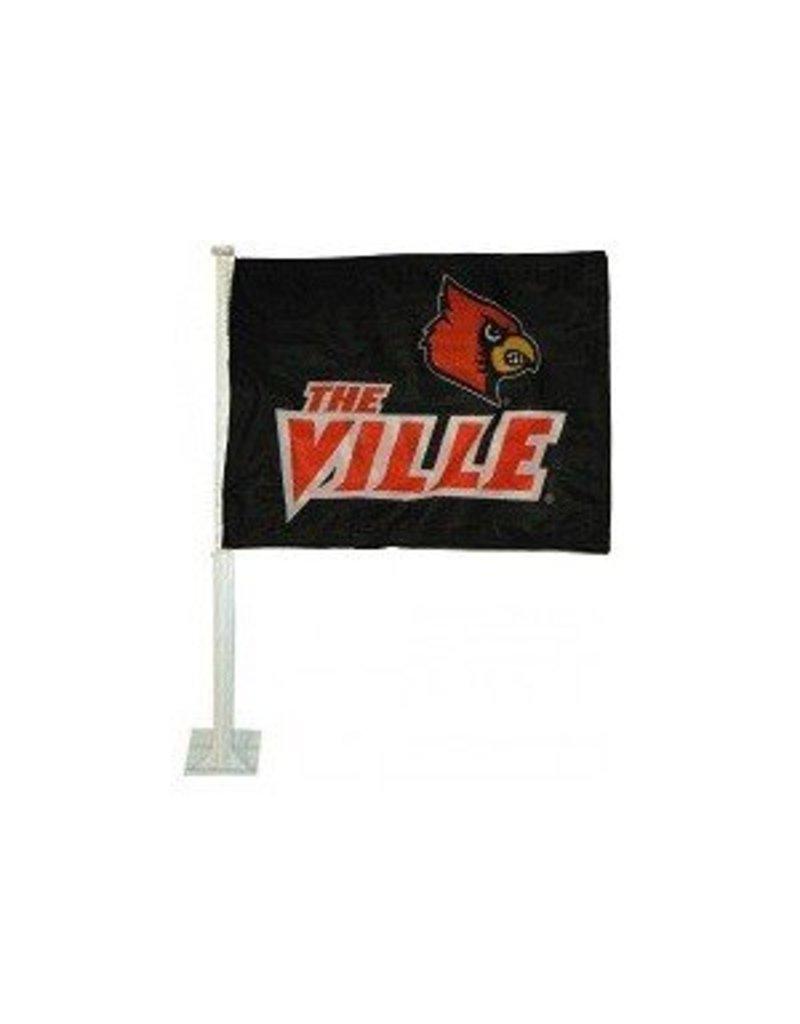 CAR FLAG, THE VILLE, BLACK, UL