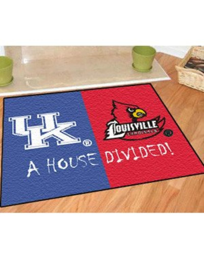 Fanmats DOOR MAT, HOUSE DIVIDED