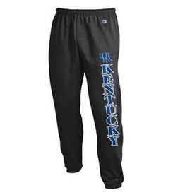 Champion Products PANT, SWEAT, BANDED LEG, BLACK, UK