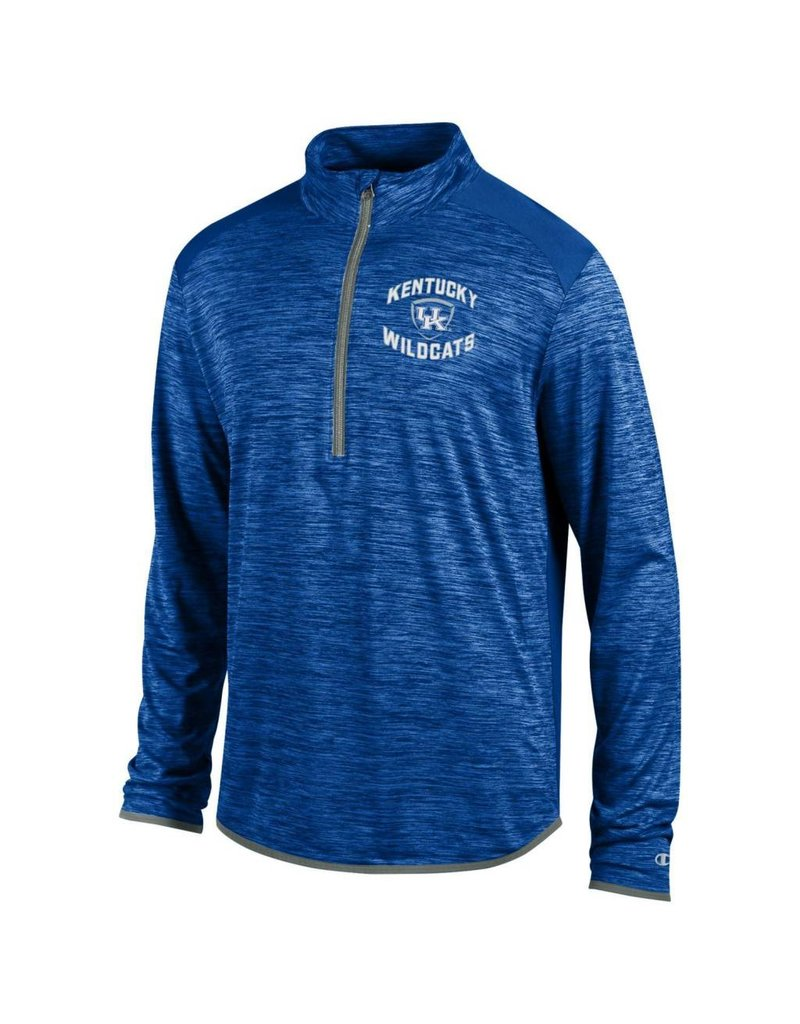 Champion Products PULLOVER, 1/4 ZIP, INFINITY (MSRP $60.00), ROYAL, UK