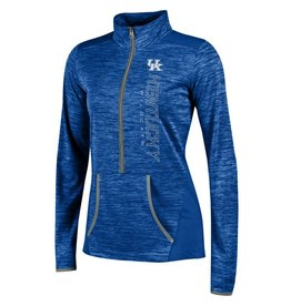 Champion Products PULLOVER, LADIES, 1/2 ZIP, INFINITY, ROYAL, UK