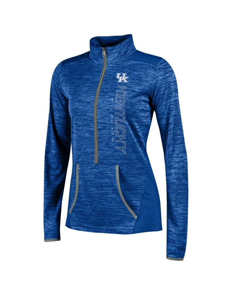 Champion Products PULLOVER, LADIES, 1/2 ZIP, INFINITY (MSRP $65.00), ROYAL, UK