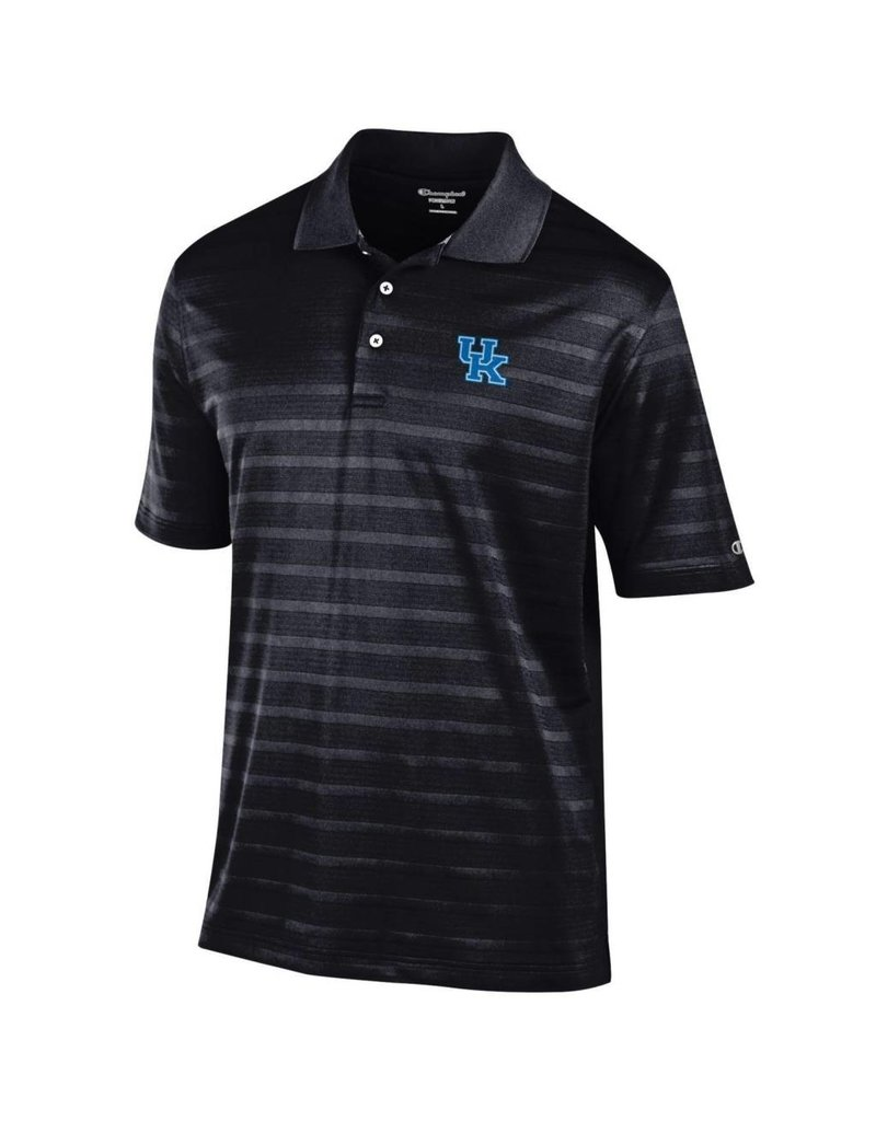 Champion Products POLO, BLACK, TEXTURED (MSRP $65.00), UK