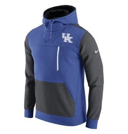 Nike Team Sports HOODY, NIKE, AV15, ROYAL/GRAY, UK
